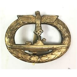 WWII Nazi U-Boat War Badge