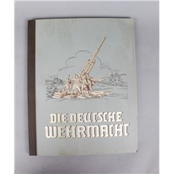WWII German Color Plates of Standards, Etc.