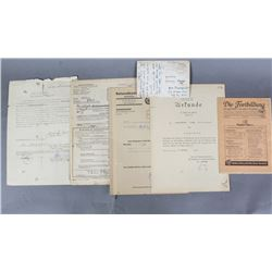WWII Original German Orders & Documents (7)