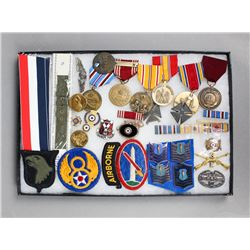 WWII-Korean War U.S Medals, Insignias & Patches