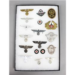 WWII German Hat Insignias