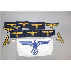 WWII German Navy Insignia Lot