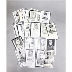 27 German Death Cards