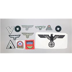 WWII Nazi-Russian Army Insignia Lot