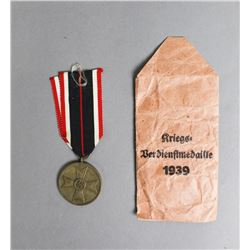 Unissued German Service Medal