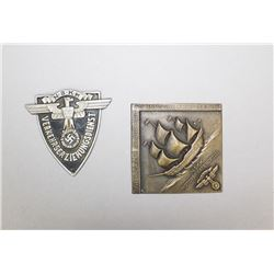 German Nazi NSKK Motor Brigade & Traffic Plaque