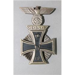 Dualer Combined 1914 2nd Class Cross Pin