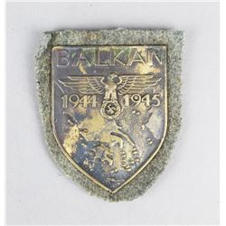 WWII Balkan 1944-1945 Battle Shield
