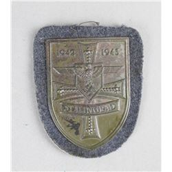 WWII German Stalingrad Shield 1942-43