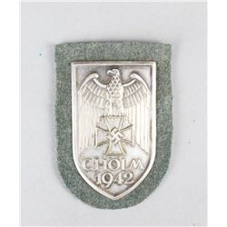 WWII Red Army Cholm Shield 1942