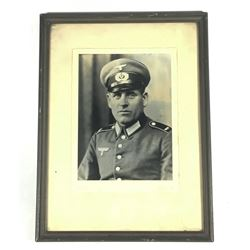 WWII Nazi Wehrmacht Enlisted Man Photo