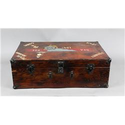 WWII Seabee Pearl Harbor Suitcase