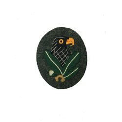 WWII German Snipers Sleeve Patch