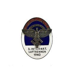 WWII German 1940 Enameled NSFK Badge