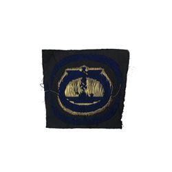 WWII German Cloth U Boat Badge