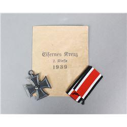 WWII Nazi Iron Cross Second Class