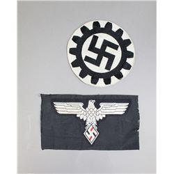German Labor Front Swastika and Eagle