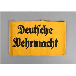 WWII German Deutsche Wehrmacht Armband