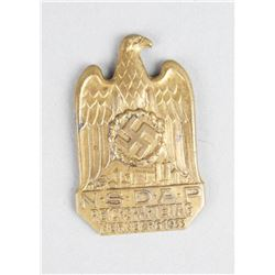 N.S.D.A.P Reichsparteitag Nurnberg 1933 Pin