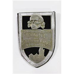 German WWII Nazi 1934 SS Schwarzen Korps Wintertag
