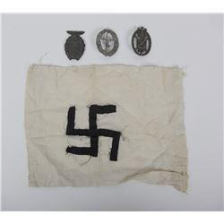 WWII German Insignia Lot