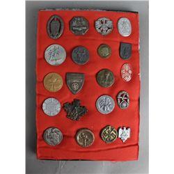 German Rally/Donation Pins & Badges