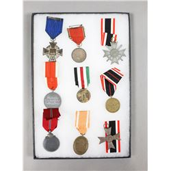 WWII German Medals w/ Ribbons