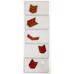 WWII Japanese Insignia Patches (5)