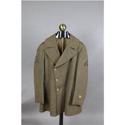Shortened US WWII Overcoat