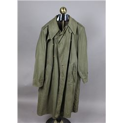 1960's US Army Overcoat w/ Liner