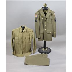 WWII US Army Air Force Staff Sgt Uniform