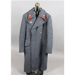 Modern Russian Military Overcoat