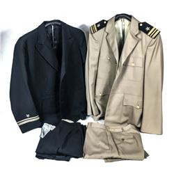 2 US Navy Uniform & 1 Hat