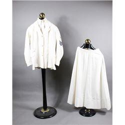 WWII White Linen Women's Naval Uniform