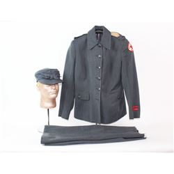 WWII Woman's American Red Cross Uniform