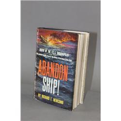 Abandon Ship! By Richard F Newcomb Book