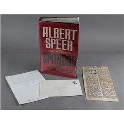 Spandau The Secret Diaries By Albert Speer Book