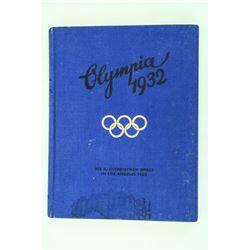 WWII German 1932 Olympic Album