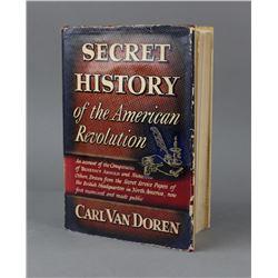 Secret History Of The American Revolution Book