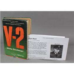 V-2 By Walter Dornberger Book