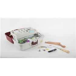 Fishing Accessories w/ Tackle Box