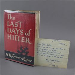 The Last Days Of Hitler - Book