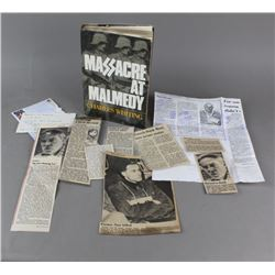 Massacre At Malmedy By Charles Whiting - Book
