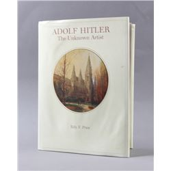 Adolf Hitler The Unknown Artist Bill F Price Book
