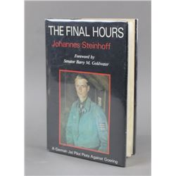 The Final Hours By Steinhoff, Book