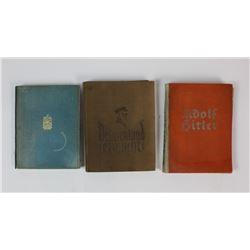 WWII Nazi Hardcover Books (3)