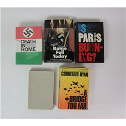 WWII Books on France/Italy/England (5)
