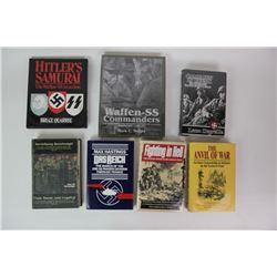 WWII Nazi Hardcover Books (7)