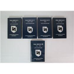 WWII Das Reich Vol. I-V Books