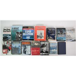 WWII Battleships & Submarine Books(14)